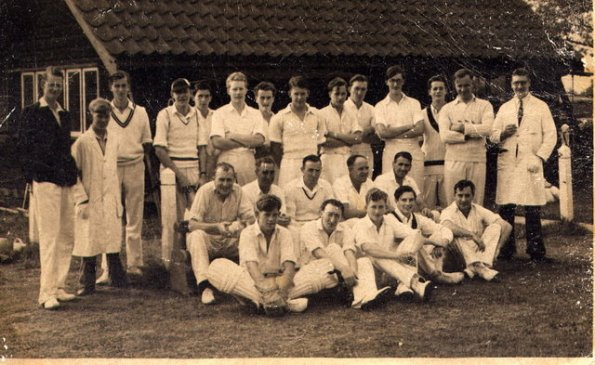 Coleshill Cricket Club - in 1956