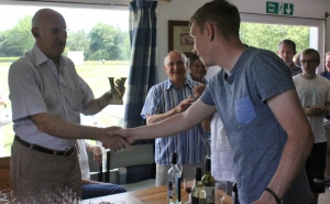 James Taylor lands the Bowling Cup and Most Improved Player